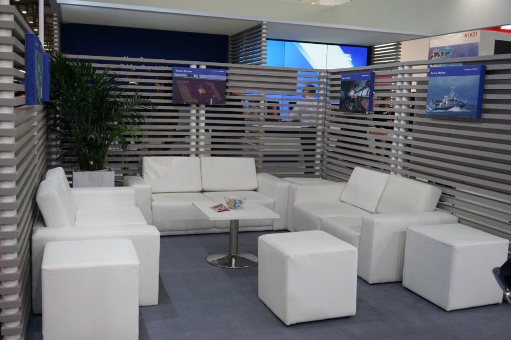 Trade Show floor organization
